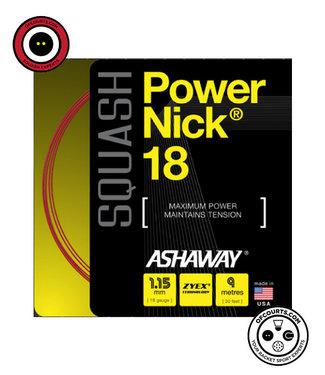 Ashaway Powernick 18 Red Squash String