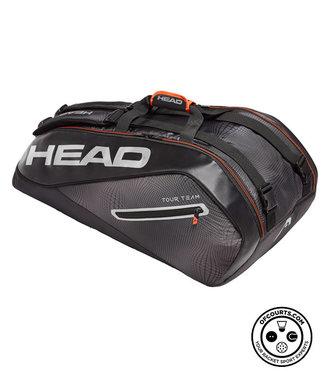 Head Tour Team 9R Supercombi (Black/Silver) Racket Bag