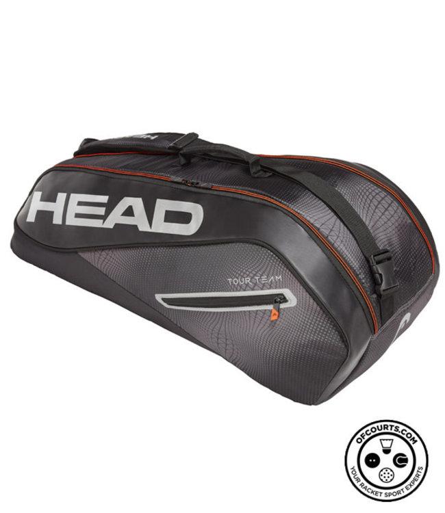 Head Tour Team 6R Combi (Black/Silver) Racket Bag