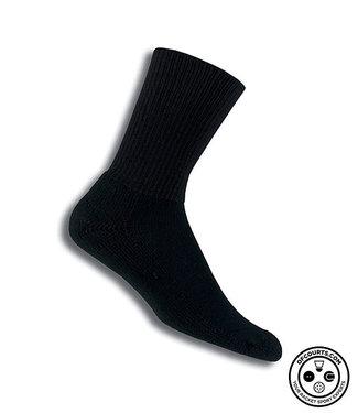 Thorlo Tennis Sock Thick Crew BLK Large