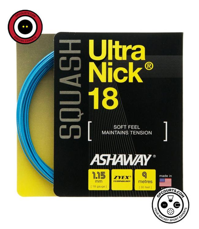Ashaway Ultranick 18 Blue Squash String