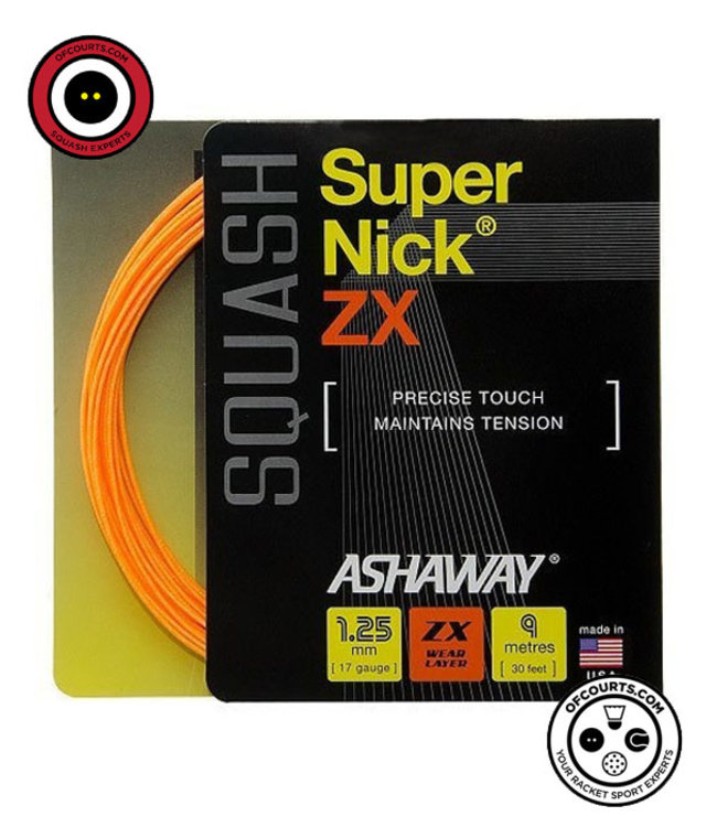 Ashaway Supernick ZX Squash String