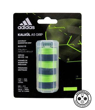 adidas Kalkul A5 Overgrip- 3-Pack, Solar Green