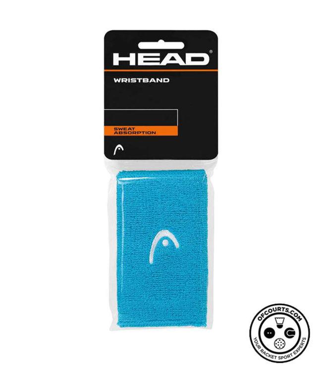 "Head 5"" Blue Wristband (2-Pack)"
