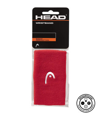 """Head 5"""" Red Wristband (2-Pack)"""
