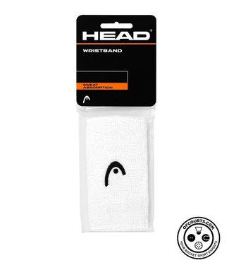 """Head 5"""" White Wristband (2-Pack)"""