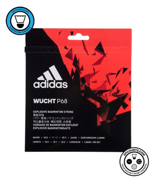 adidas Wucht P68 Badminton String- White