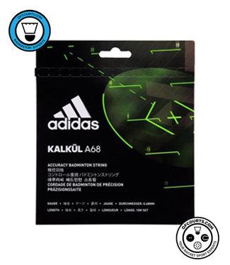 adidas Kalkul A68 Badminton String- White