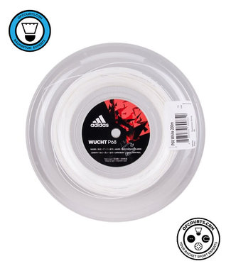 adidas Wucht P68 Badminton String 200m Reel- White