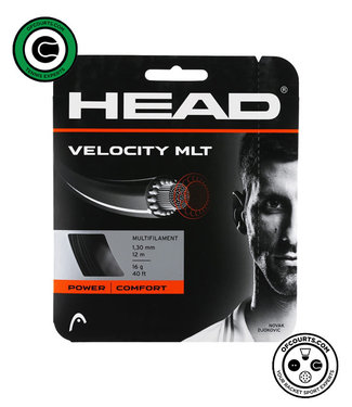 Head Velocity MLT  Black 16G Tennis String