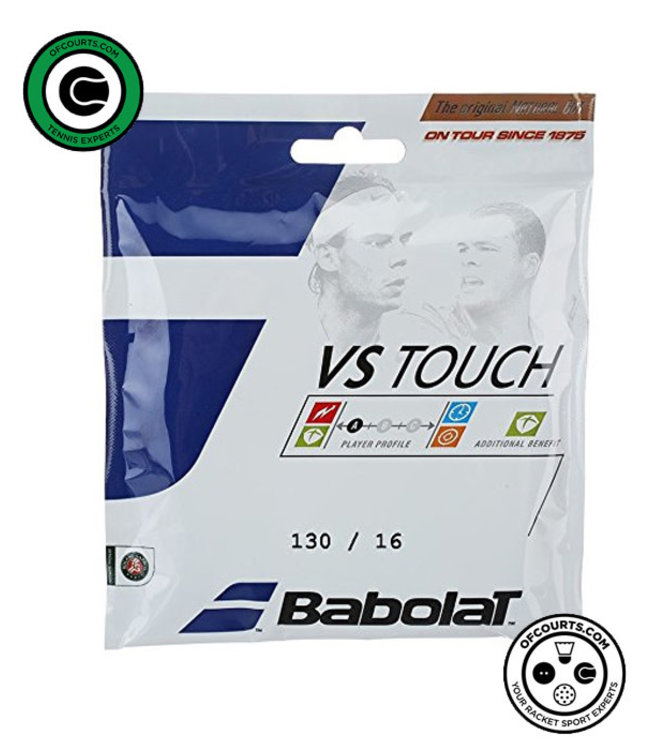 Babolat VS Touch 130/16g Natural Gut Tennis String