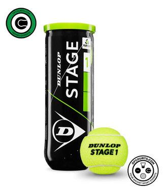 Dunlop Starter Tennis Balls- Green Dot