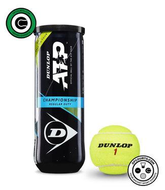 Dunlop ATP Championship Regular Duty Tennis Balls - 3 Can