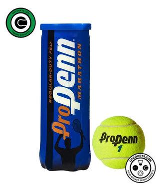 Penn Pro Marathon Regular Duty Tennis Balls - 3 Can
