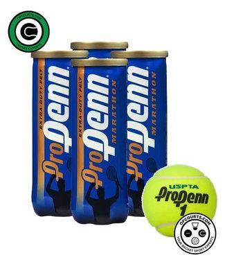 Penn Pro Marathon Extra Duty Tennis Ball - 4 Pack