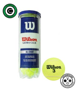 Wilson Ultra Club Tennis Ball - 3 Can