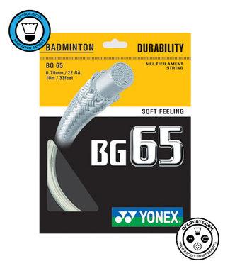 Yonex BG 65 Badminton String White