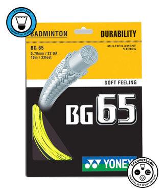 Yonex BG 65 Badminton String Yellow