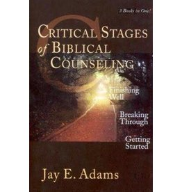 Adams Critical Stages of Biblical Counselling