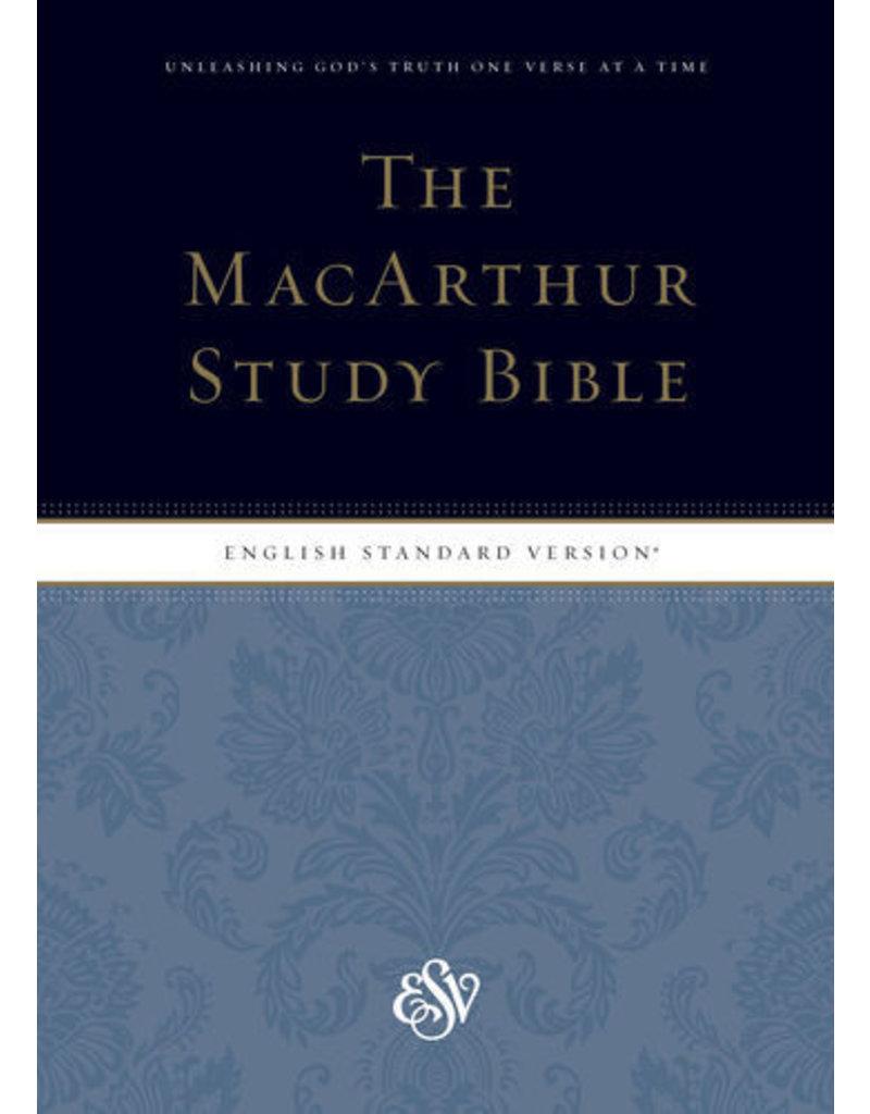 John MacArthur ESV MacArthur Study Bible Hardcover