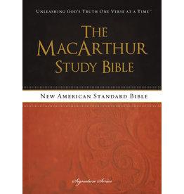 MacArthur NASB MacArthur Study Bible Paperback