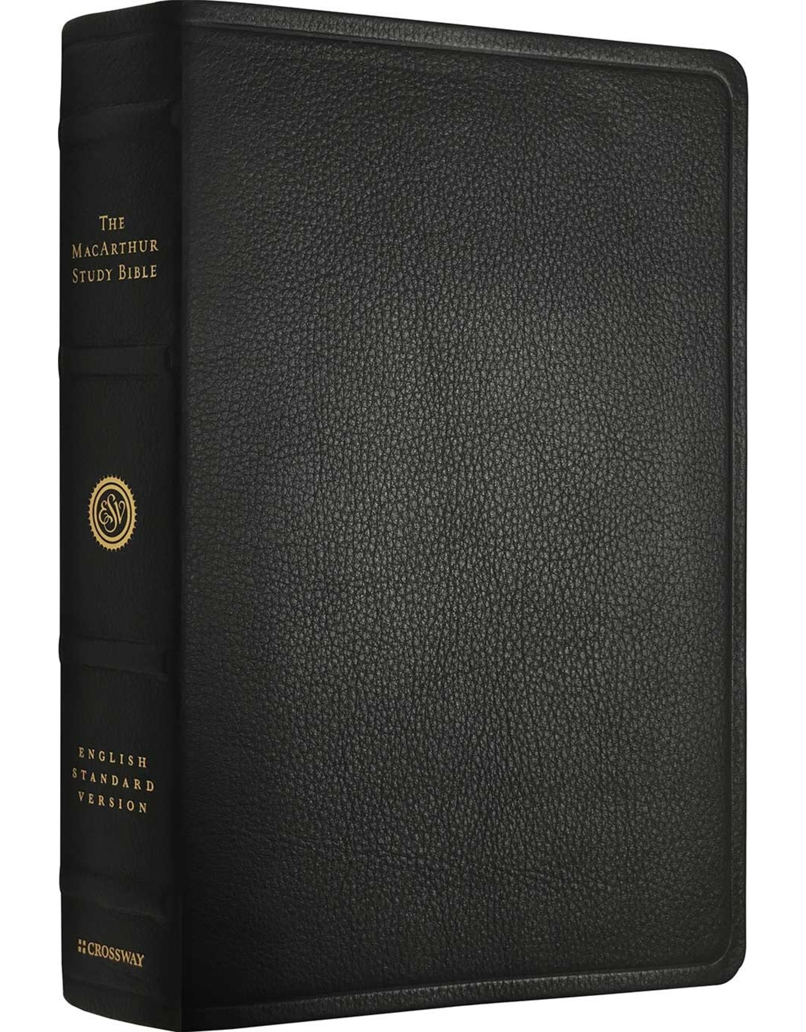John MacArthur ESV MacArthur Study Bible Premium Leather Black