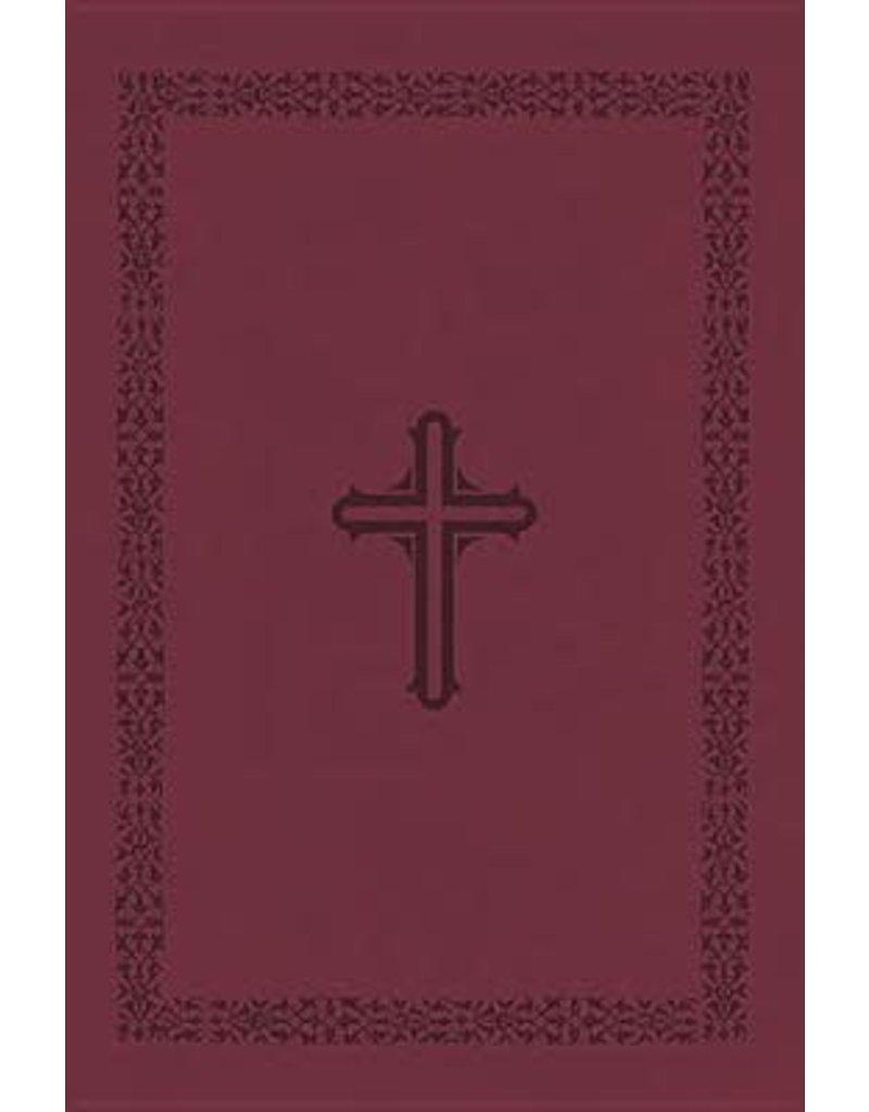 MacArthur NKJV MacArthur Study Bible Leather Cranberry
