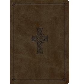 MacArthur ESV MacArthur Study Bible Leather Olive