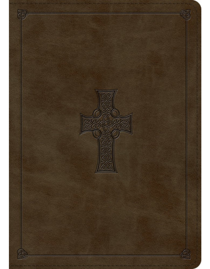 MacArthur ESV MacArthur Study Bible Leather Olive