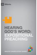 Jamieson Hearing God's Word: Expositional preaching