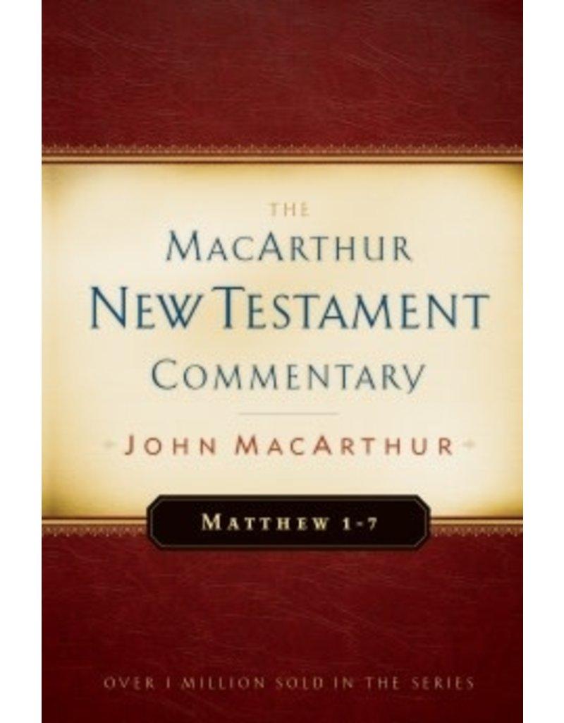 MacArthur MacArthur Commentary - Matthew 1-7