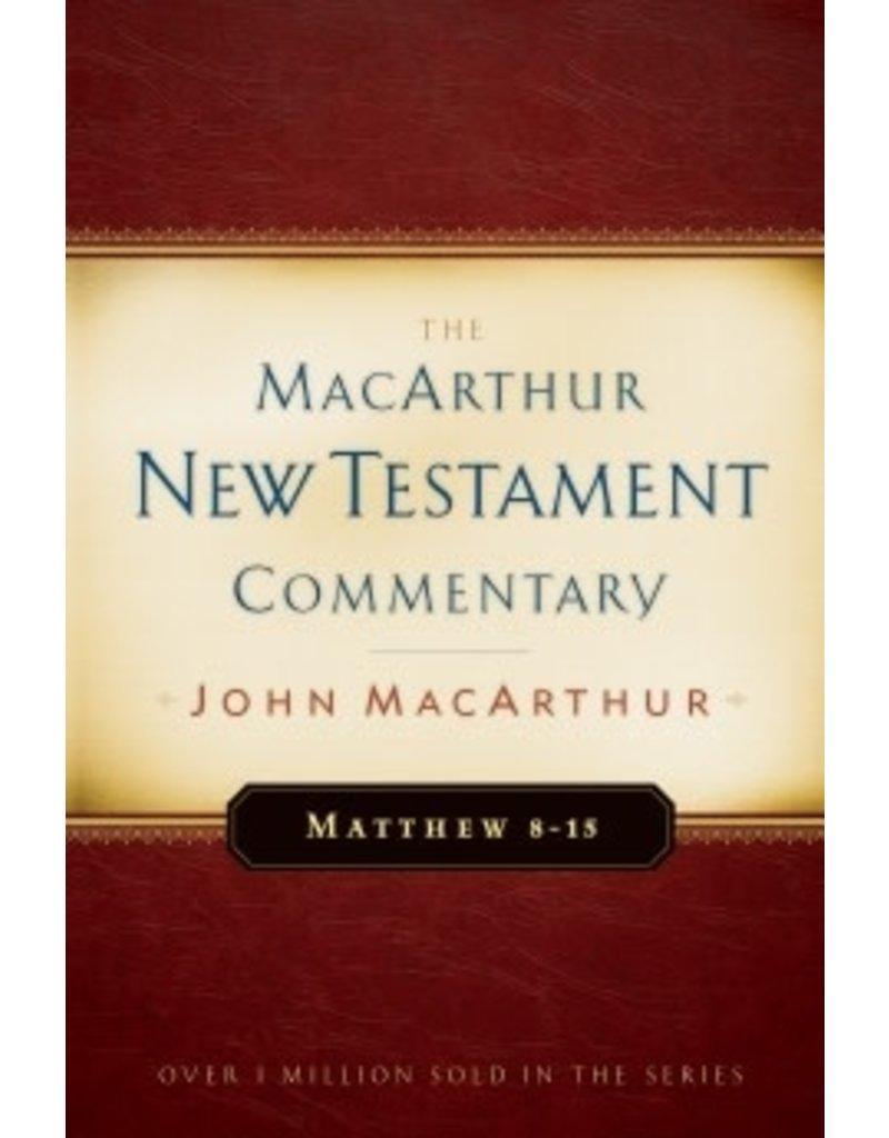 MacArthur MacArthur Commentary - Matthew 8-15