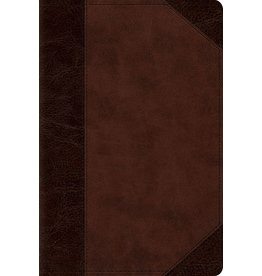 ESV Personal Reference Bible, Brown/Walnut