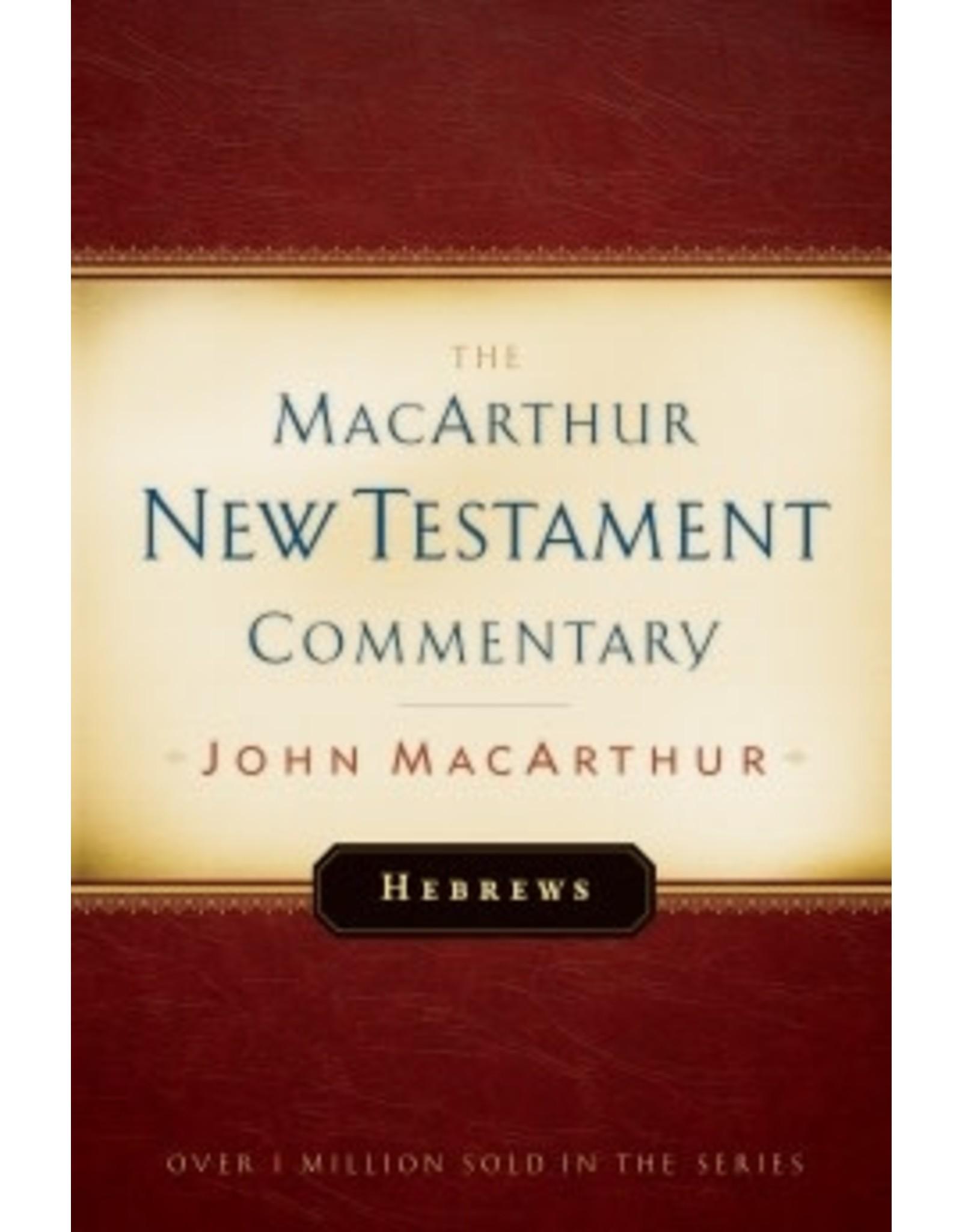 MacArthur MacArthur Commentary - Hebrews