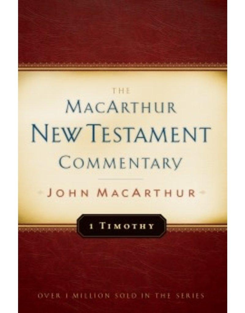 MacArthur MacArthur Commentary - 1 Timothy