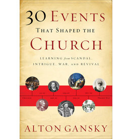 Gansky 30 Events that Shaped the Church