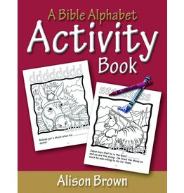 Brown A Bible Alphabet Activity Book