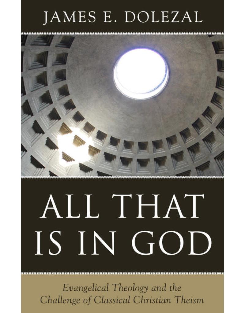 Dolezal All That is in God
