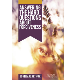 MacArthur Answering Hard Questions about Forgiveness