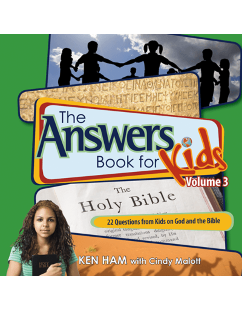 Ham Answers Book For Kids,  The Vol 3