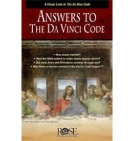Rose Publishers Answers to the Da Vinci Code