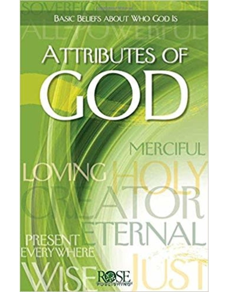 Rose Publisher Attributes of God