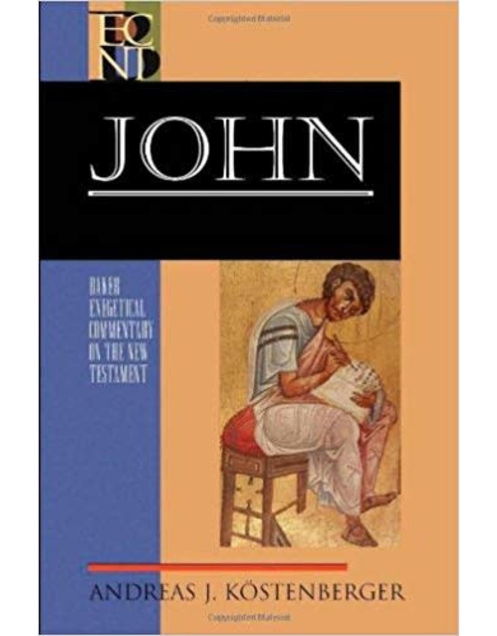 Kostenberger Baker Exegetical Commentary  John