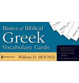 Mounce Basics of Biblical Greek Vocabulry Cards