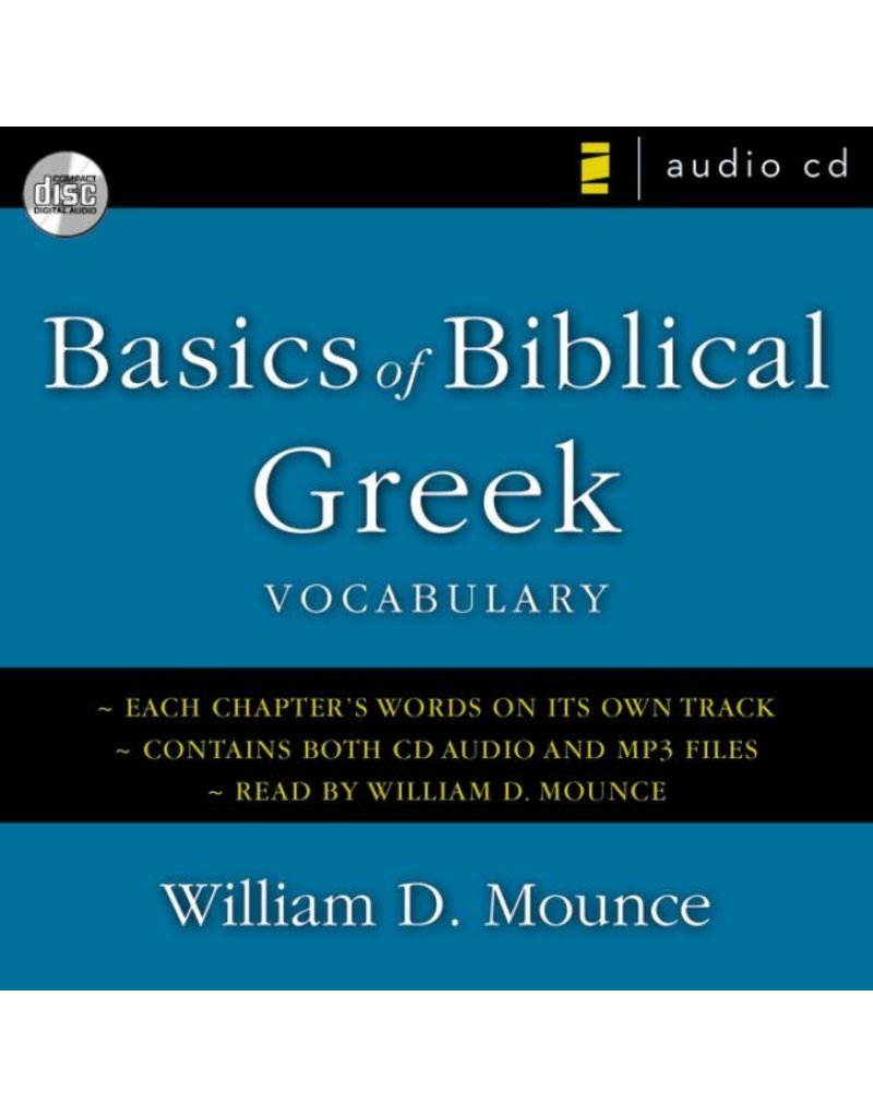 Mounce Basics of Biblical Greek Vocabulary CD