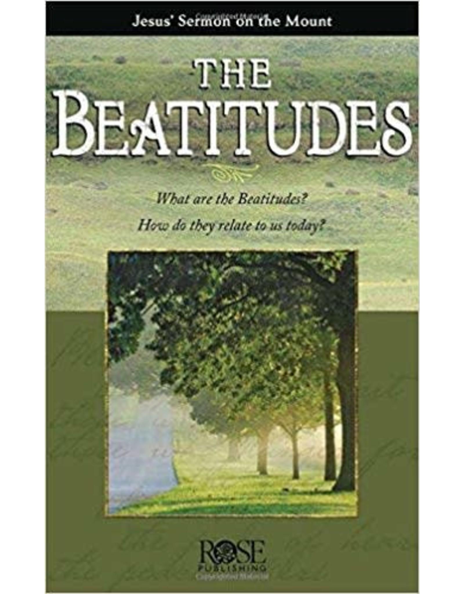Rose Publishers The Beatitudes