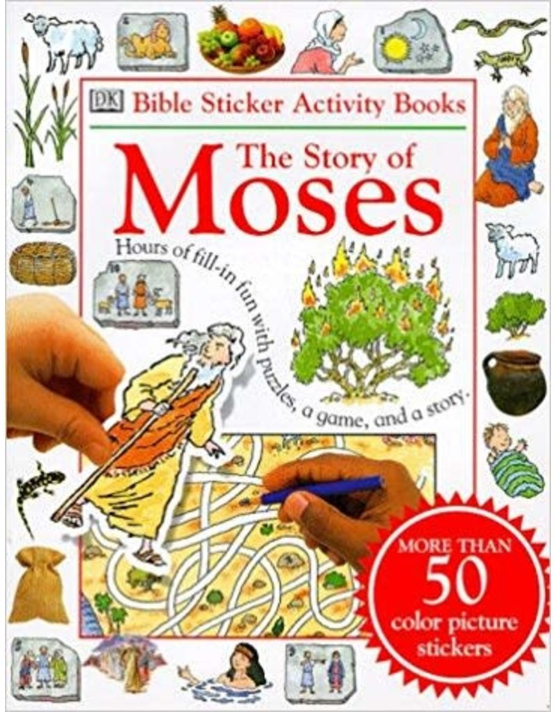 Bible Sticker Activity Book The Story of Moses