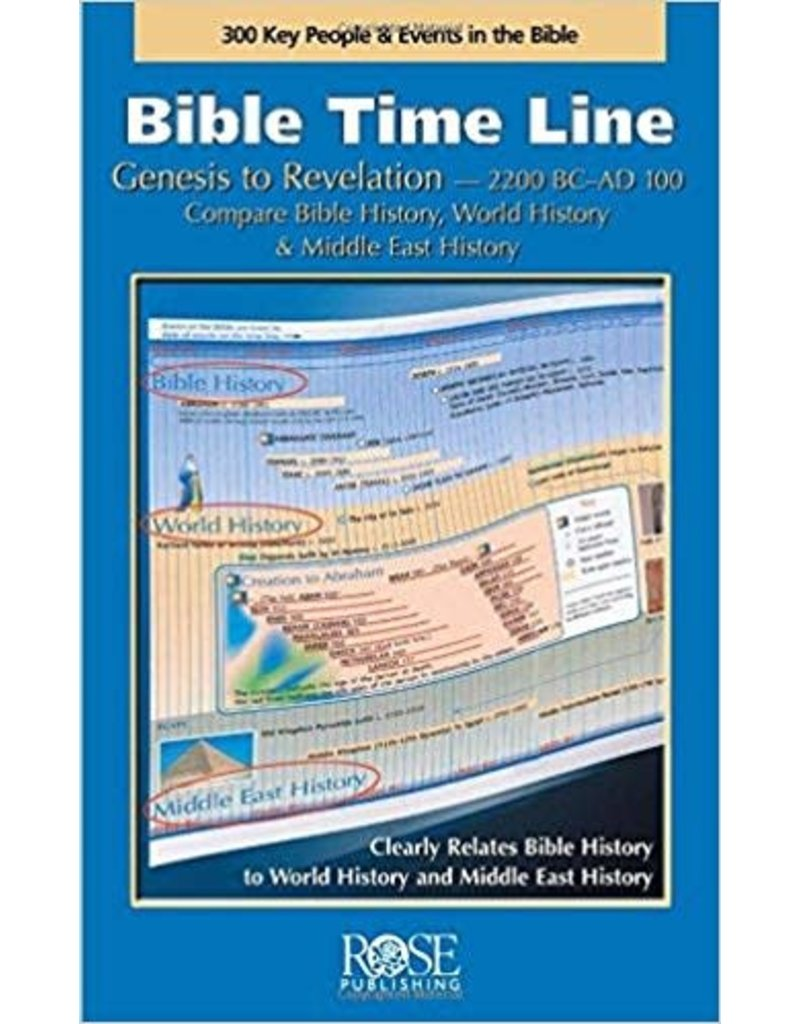 Rose Publishers Bible Time Line