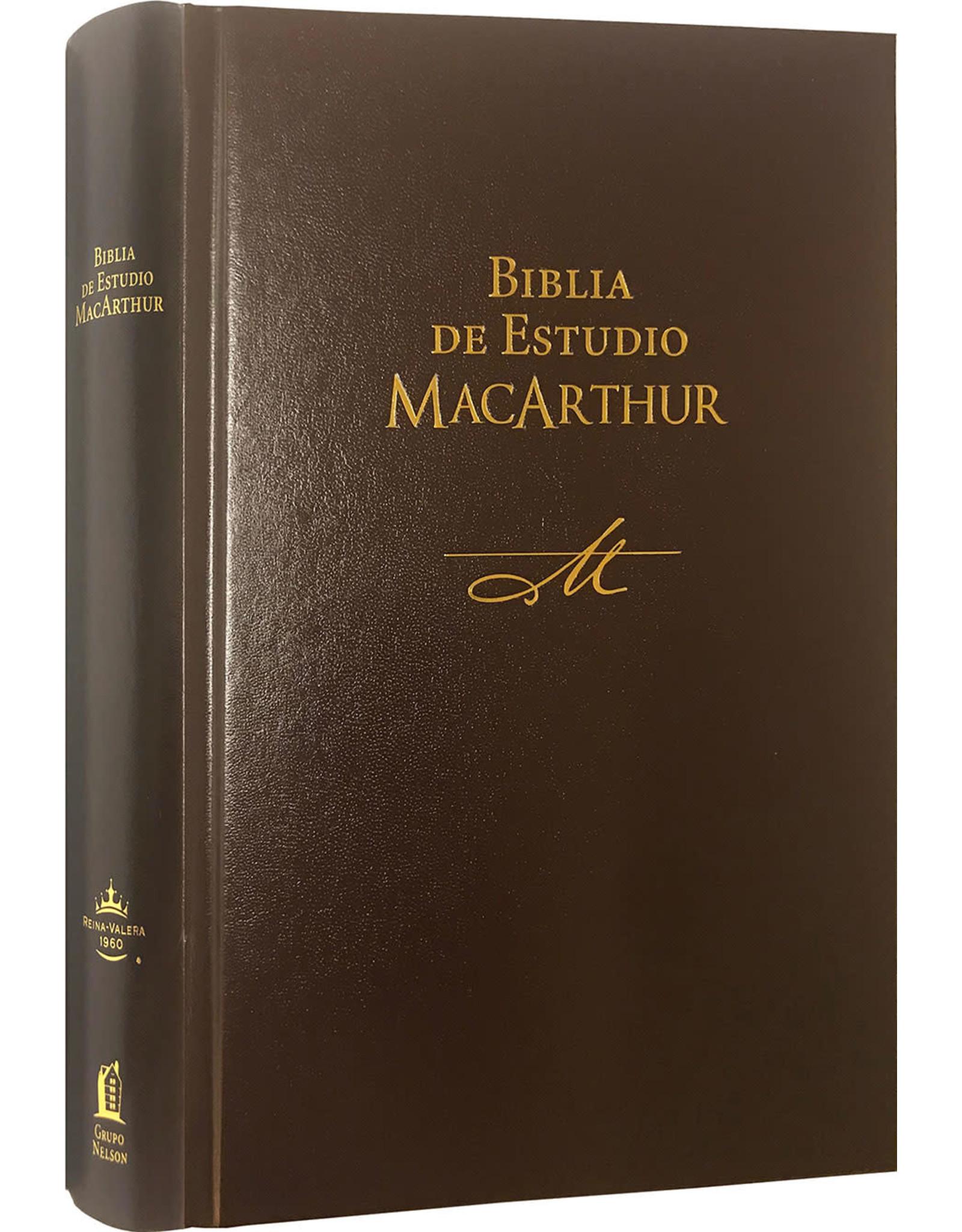 MacArthur Biblia De Estudio MacArthur, Hardcover