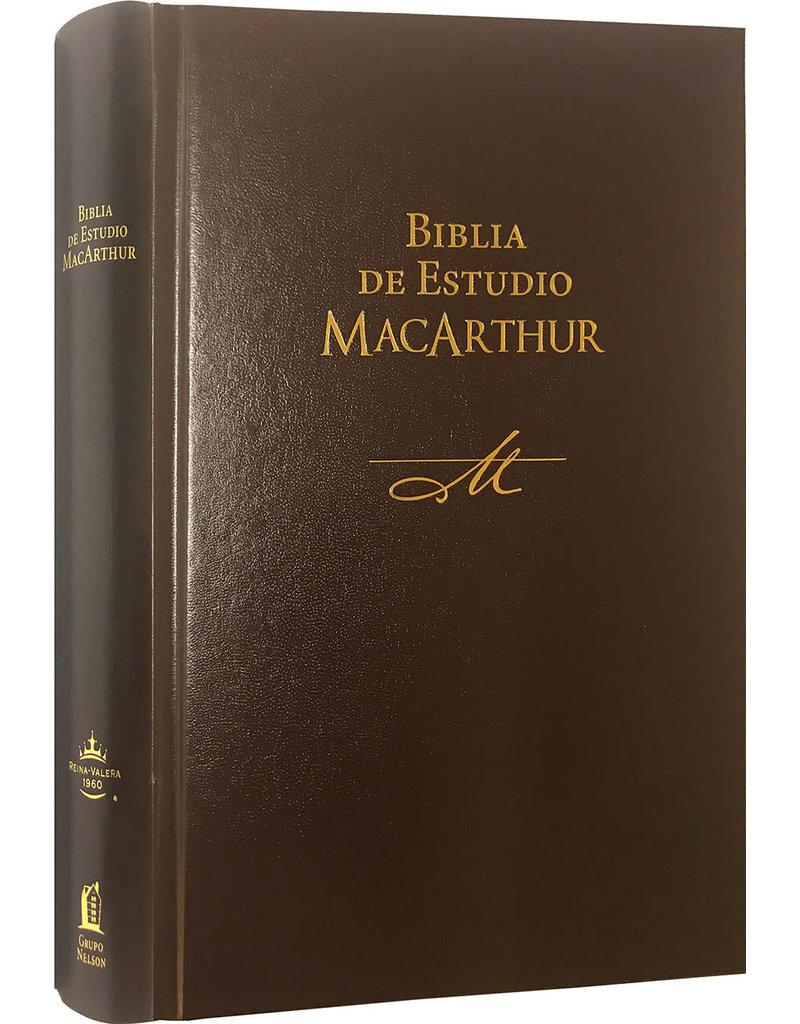 MacArthur Biblia De Estudio MacArthur, Hard Cover